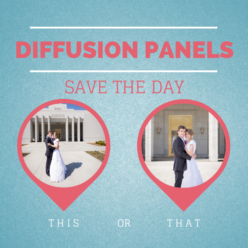 Diffusion Panels--Saving the Day